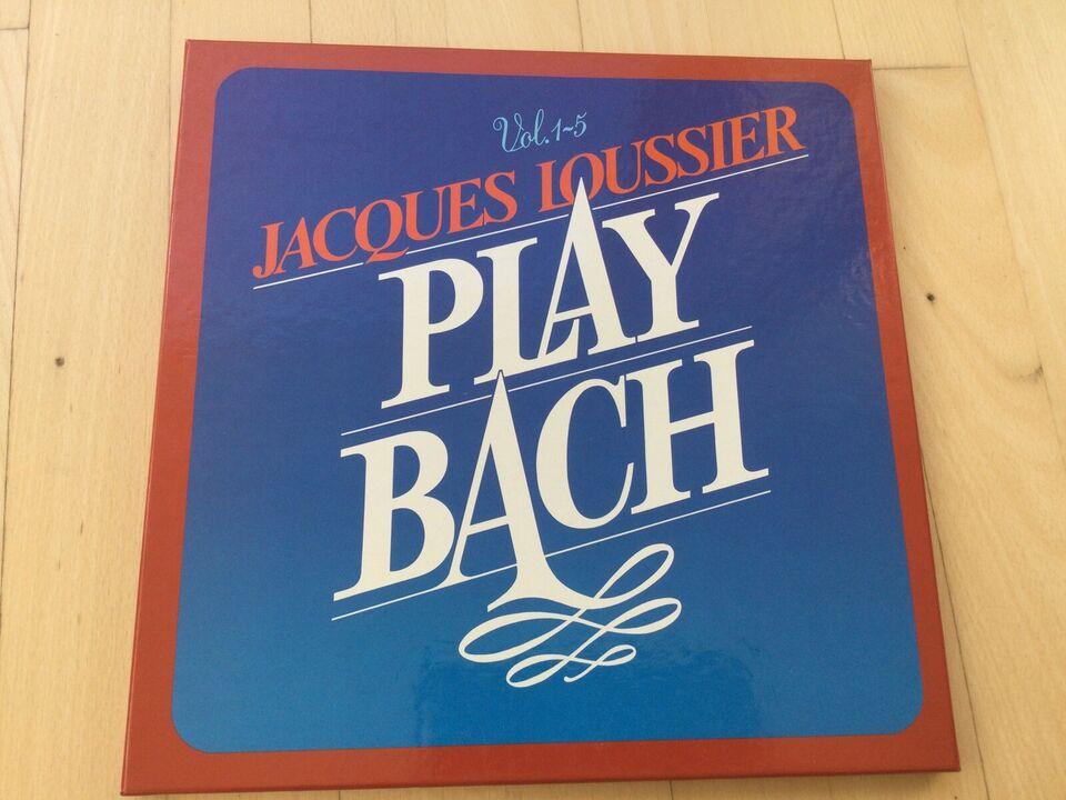 LP, Jacques Loussier , Play Bach Vol. 1 - 5