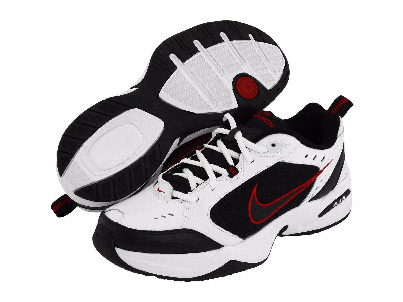 NIB Men's Nike Air Monarch 4 Running & Shoes Torch Med & Running 4E Width Dynasty WhRed dcbaa4