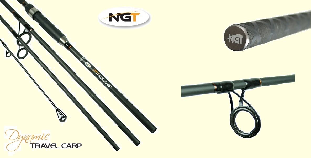Carbon Carp Fishing Rod  NGT Dynamic for Stalking , Reel , Rod Pod Etc