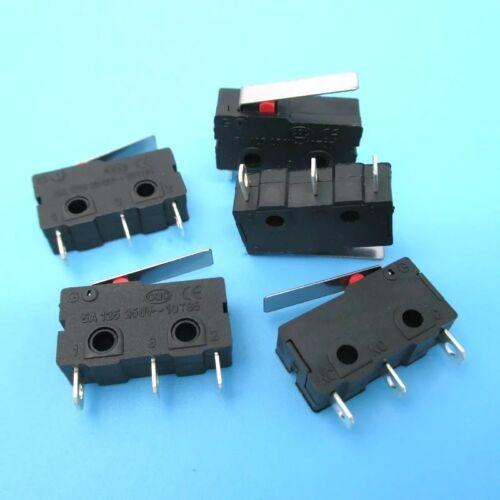 KW11-3Z Mirco Lever Arm Switch 3 Pin N//O N//C 5A 250VAC Limit Switch