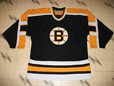 BOSTON BRUINS NHL HOCKEY JERSEY MEN'S SIZE 50-52 GREAT SHAPE EMBROIDERED CREST