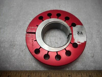 IS .8286 USED IN EX COND DoAll 7//8-14 UNF 3A GO THREAD RING GAGE P.D