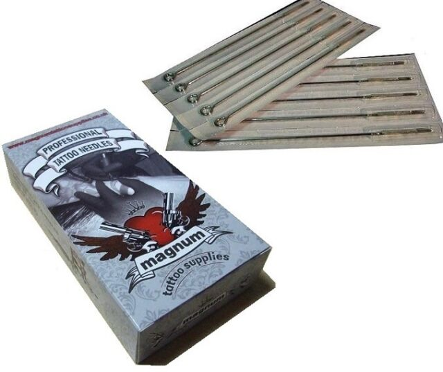 10 X 5 RM Round Magnum Tattoo Needles Top Quality UK - Curved Mag ...