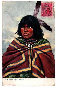 CPA-USA-A-Walapai-Indian-Squaw-Oilette-2437-034-Indian-Women-034