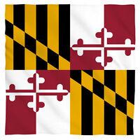 Bandana - The State Of Maryland Flag (22x22)
