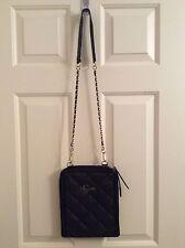 Guess Black Leather Handbag Shoulder Bag