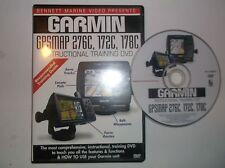 Garmin Chartplotter 276C/172C/178C (DVD, 2005)