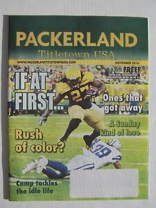 Green Bay Packers Packerland Titletown USA Magazine Nov