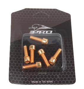 M5*18mm  Stem Fixing Bolts Bicycle Steering Stem Handlebar Screw 6pcs
