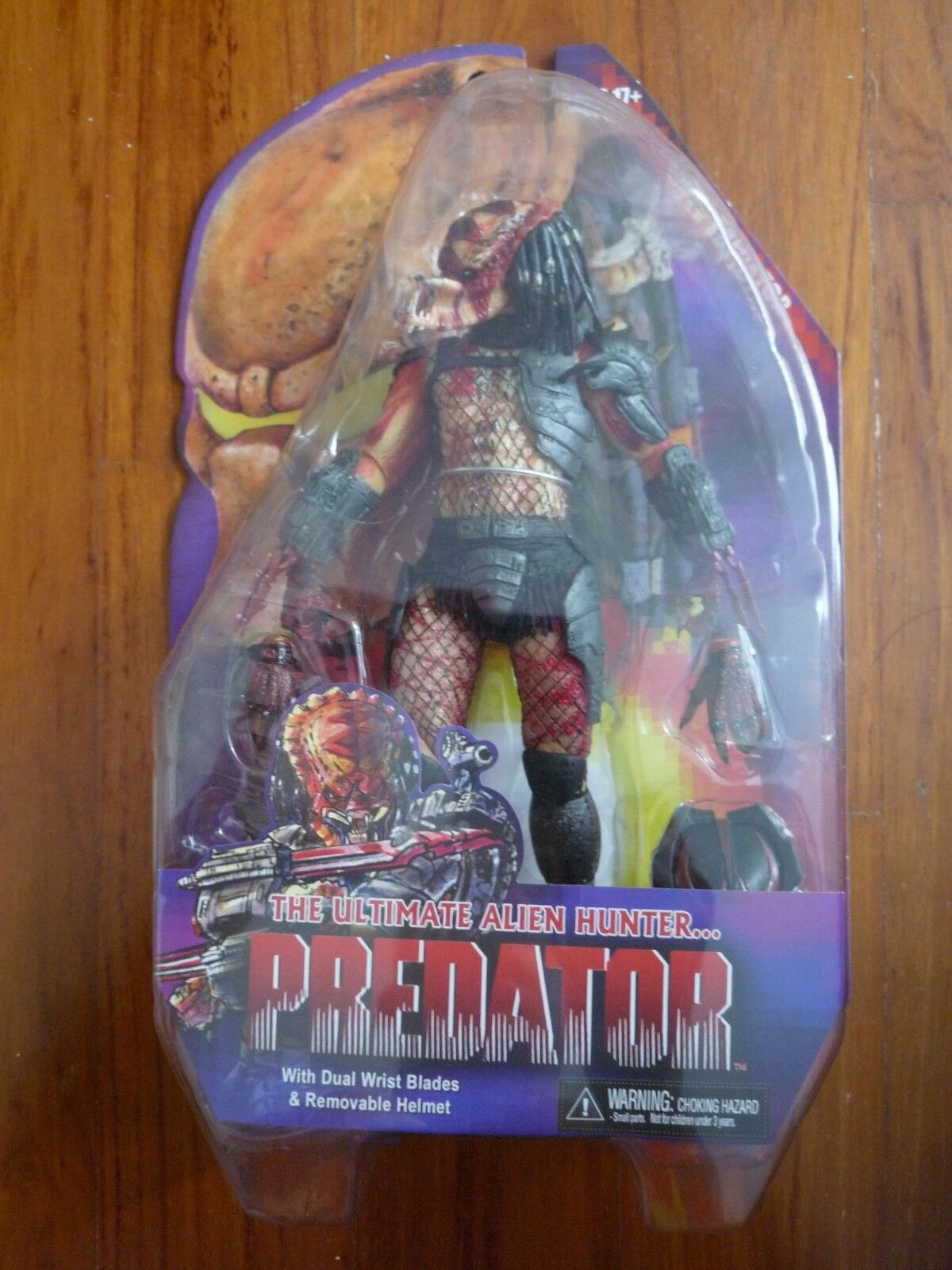 Predators Series 12 Viper Predator Alien Hunter 8 in Action Figure NECA Toys