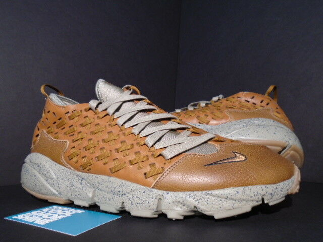 2011 Nike Air FOOTSCAPE MOTION WOVEN TZ BODEGA HAZLENUT GRIT BLACK 386130-200 11