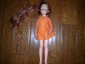 1969-Vintage-Ideal-Toy-Crissy-Doll-18-034-Original-Dress-Adjustable-Hair