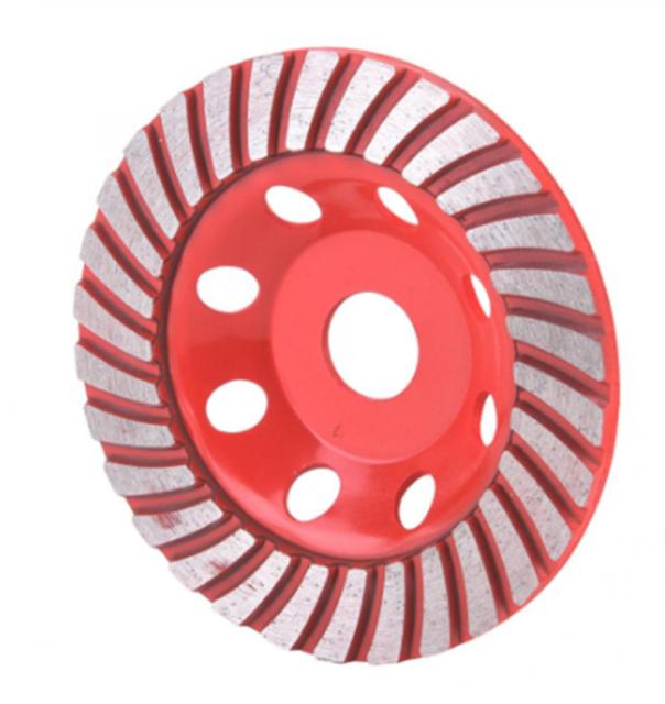 2Pcs 4.5 inch Diamond Segment Grinding Wheel Disc Grinder Cup Concrete Stone Cut
