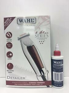 Details about WAHL 5 STAR SERIES DETAILER UK PLUG+FREE WAHL CLIPPER  OIL-SAME DAY DISPATCH