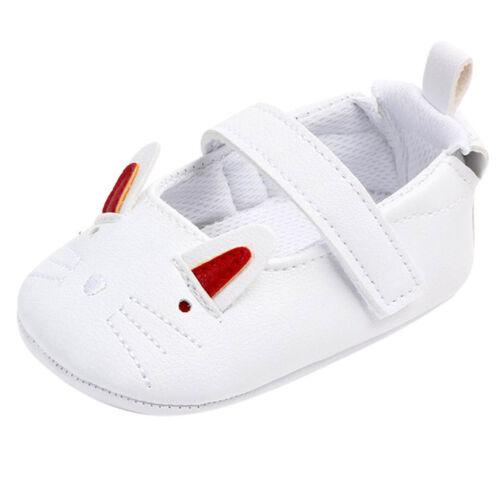 Cute Baby Girls Boys Newborn Infant Cartoon Casual First Walker Toddler Shoes US
