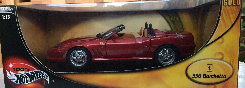 Rueda 1   18 550 Bachetta Ferrari, edición dorada rara.