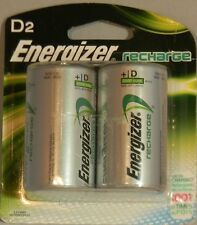 Energizer Rechargeable D Nimh Batteries (Pack of 2) FREE SHIPPING!!!