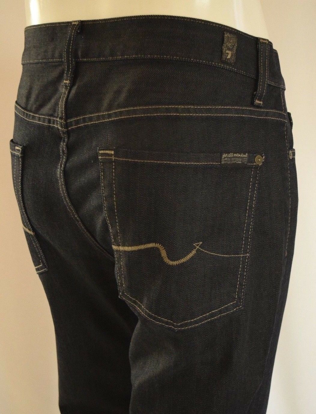 Seven 7 For All Mankind AUSTYN RELAXED STRAIGHT LEG Jeans Men 30 in CHESTER ROW