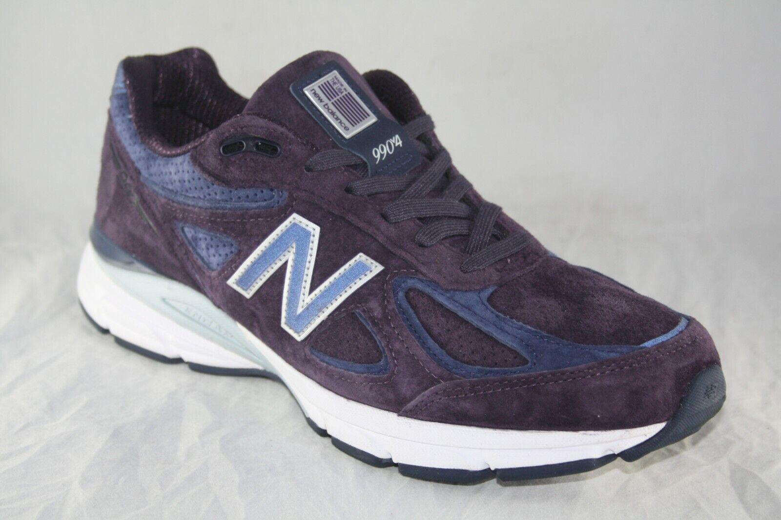 Para Hombre New Balance M990EP4 Púrpura Azul Hecho en EE. UU. MSRP