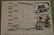 MARCH MADNESS BRACKETS & WINTER WEATHER  2013 KOTERBA EDITORIAL CARTOON