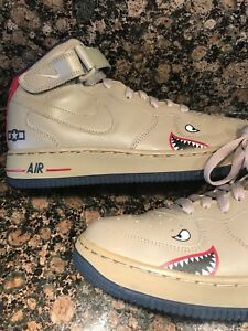 huge selection of 70e3f af0fe Image is loading NEW-Shoes-Nike-BHM-Black-History-TUSKEGEE-AIR-