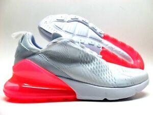Mens and WMNS Nike Air Max 270 WhiteHot Punch Running Shoes AH8050 103