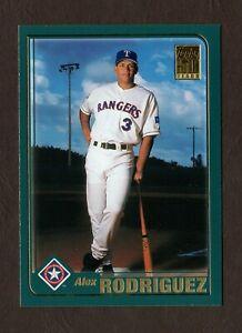 2001 Topps Baseball Card 612 Alex Rodriguez Texas Rangers F42534 Ebay