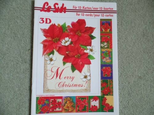 Le Suh A5 Christmas decoupage book 12 step by step designs