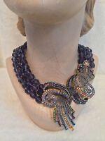 Heidi Daus Purple irresistibly Yours Necklace