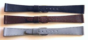 15mm-FLEURUS-HAND-MADE-GENUINE-CALF-WATCH-BAND-STRAP-CHOOSE-FROM-3-COLOURS
