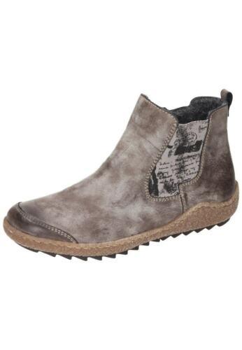 Rieker m2950-25 bottes bottines femmes chaussures marron taille 36-42 neu15