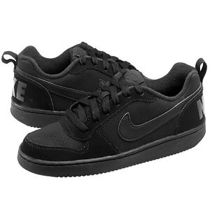 buy online 1b392 3188a Image is loading Nike-Court-Borough-Low-Big-Kids-GS-839985-