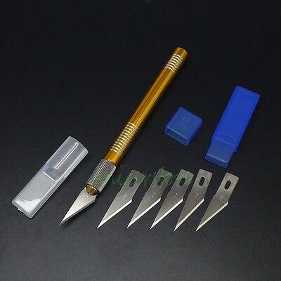 Hobby Knife Kit Graver Burin Blade Set For DIY Carving Craft PCB Art Wallpaper