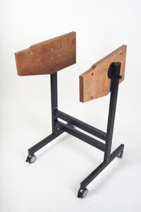 NEW-CUSTOM-MADE-Cart-Stand-for-Studer-Reel-Tape-Recorders-A-B-Series