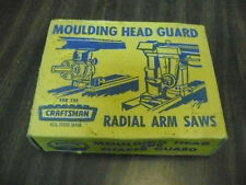 Vintage Craftsman Moulding Head Guard For Radial Arm Saws  29525 Boxed