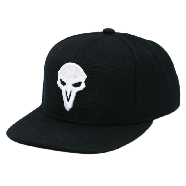 9d8977deaad Authentic OVERWATCH Reaper  Back From The Grave Embroidered Snapback Hat NEW