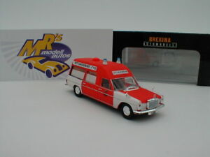 """Brekina Starmada 13819 - Mercedes-Benz /8 KTW """" FW Hannover 2229 """" 1:87  NEU"""