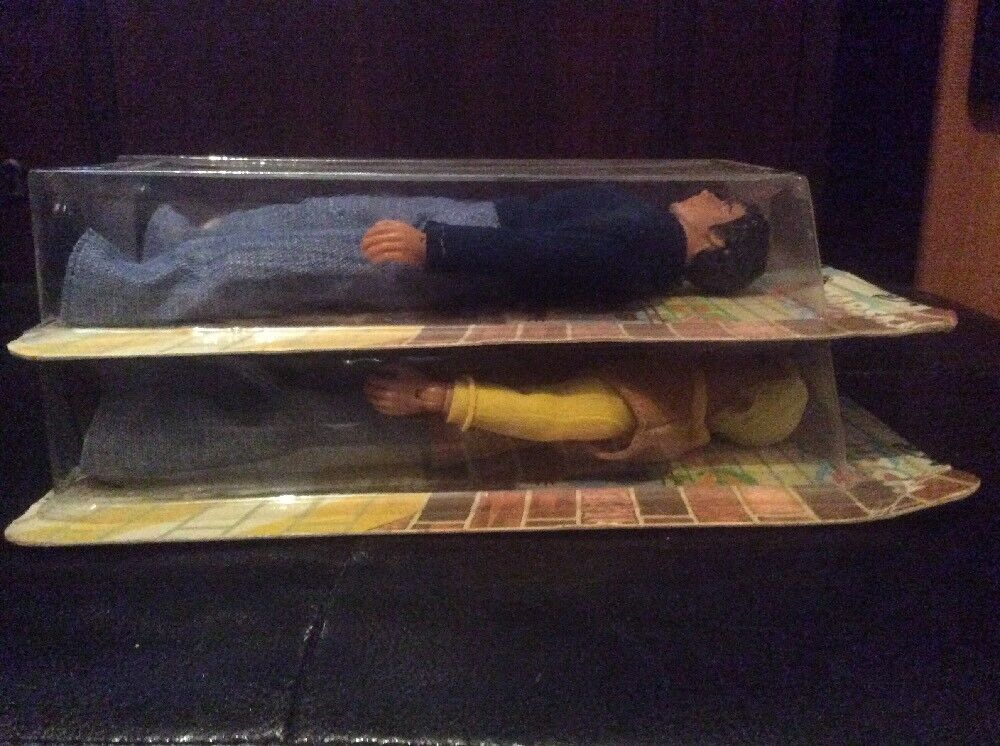 Two 1976 Rare Boxed Mego Starsky And Hutch Hutch Hutch Figures 1234a0