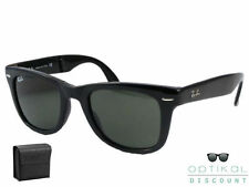 Ray Ban RB 4105 601 50 FOLDING WAYFARER occhiali sole Sunglasses Sonnenbrille