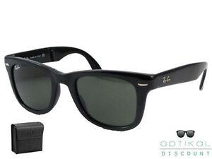Ray-Ban-RB-4105-601-50-FOLDING-WAYFARER-occhiali-sole-Sunglasses-Sonnenbrille