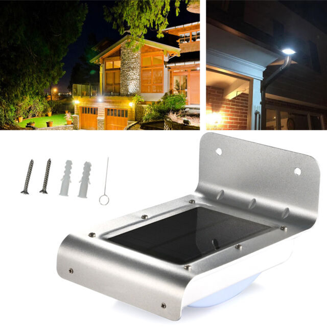16 LED Solar Power Outdoor Waterproof Lamp PIR Motion Sensor Security Light