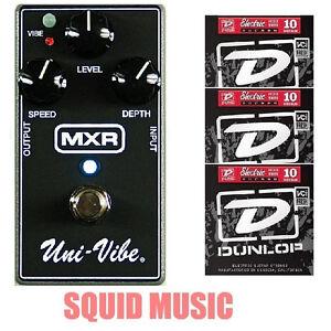 MXR-Uni-Vibe-M-68-Chorus-Vibrato-Guitar-Effects-Pedal-M68-3-SETS-OF-STRINGS