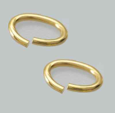BRASS JUMP RING 12 GA WIRE 13 MM I//D Pkg Of 22-1 oz   BRIGHT Solid Brass