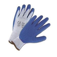 12 Pair1 Doz Rubber Coated Work Gloves Sizes Small 2xl Free Us Ship