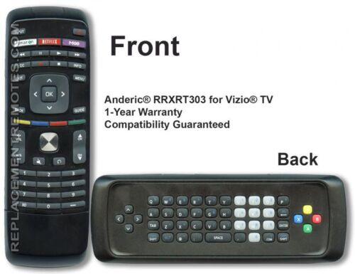 Vizio XRT303 Replacement Remote Control for Smart TV Pn 098003061040
