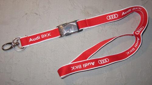 Audi BKK Schlüsselband Lanyard NEU A49v