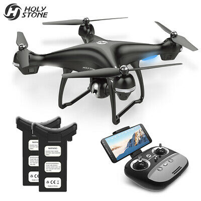 Holy Stone HS100 FPV RC Drone HD WIFI Camera GPS Follow ME Quadcopter 2 Battery