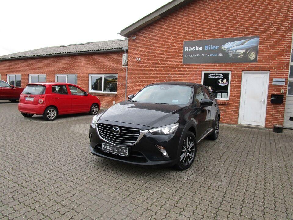 Mazda CX-3 1,5 SkyActiv-D 105 Vision Diesel modelår 2016 km