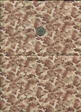 "1/6 Scale Mitchell Beach Medium Vietnam Era Camo Model Fabric 21"" x 18"" Sheet"