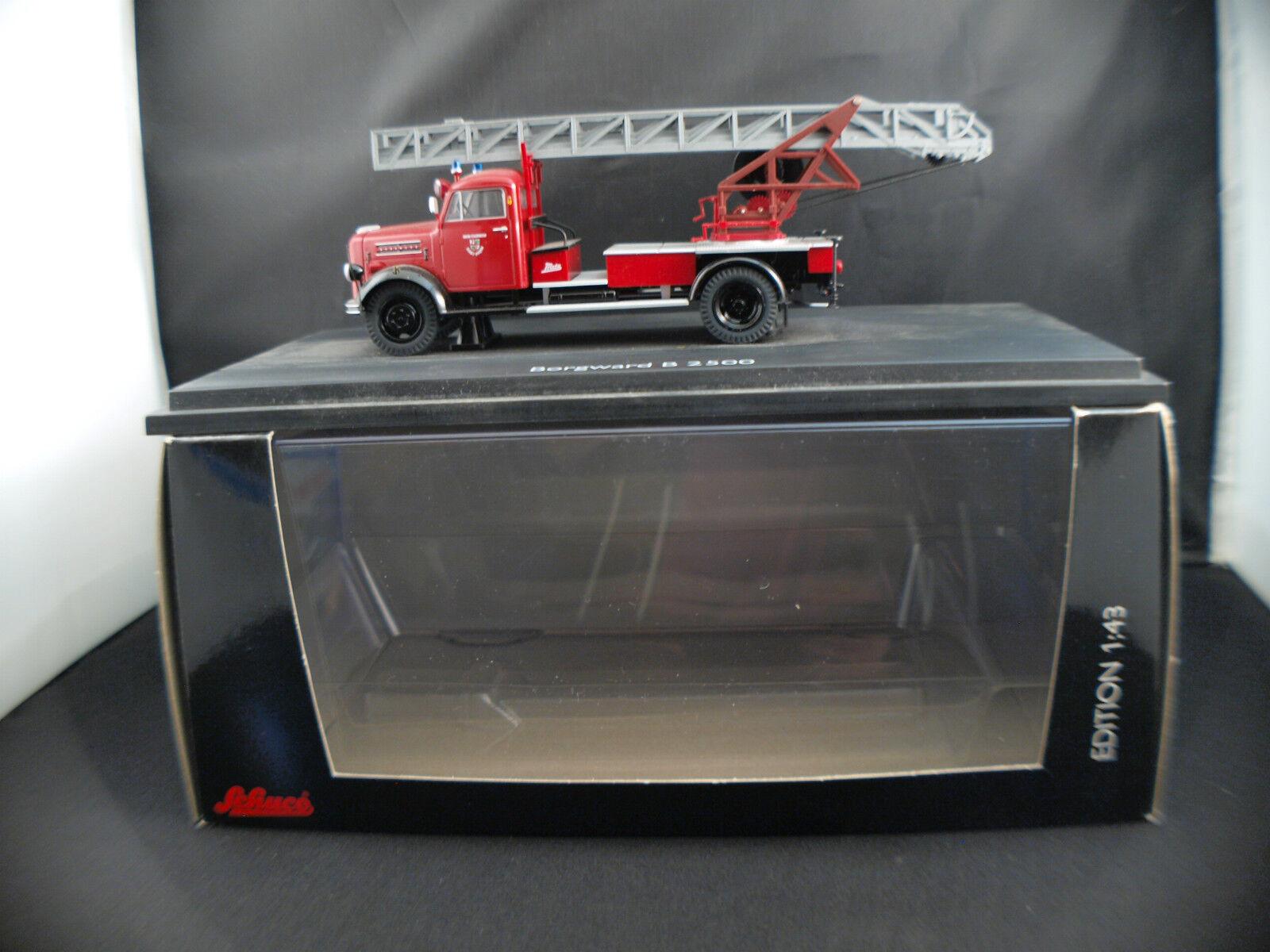 negozio a basso costo Schuco Schuco Schuco 03461 Pompiers Borgward B 2500 Feuerwehr Mayen camion neuf boite 1 43 MIB  vendita con alto sconto